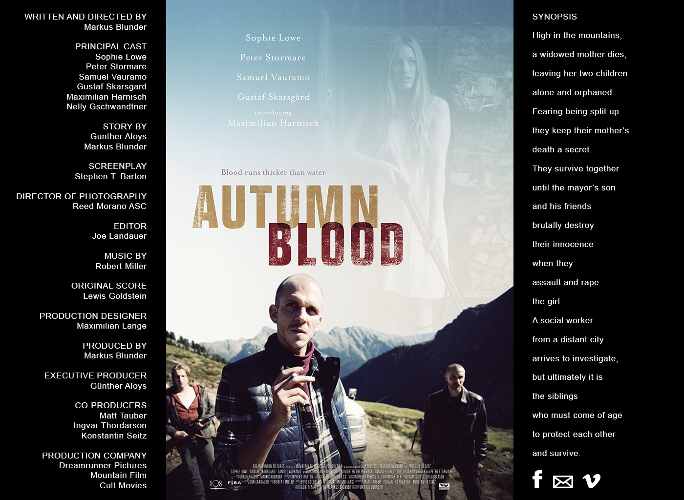 Autumn Blood Film